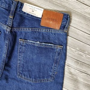 Zara Jeans - ZARA high rise straight leg folded up jeans (6)
